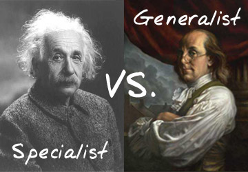 Trend in IT Skill: GENRALISTS vs SPECIFICS